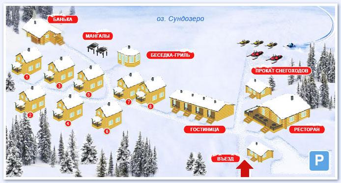 Описание: База отдыха предлагает в качестве размещения гостиницу с комфортабельными двухместными номерами и коттеджи...
