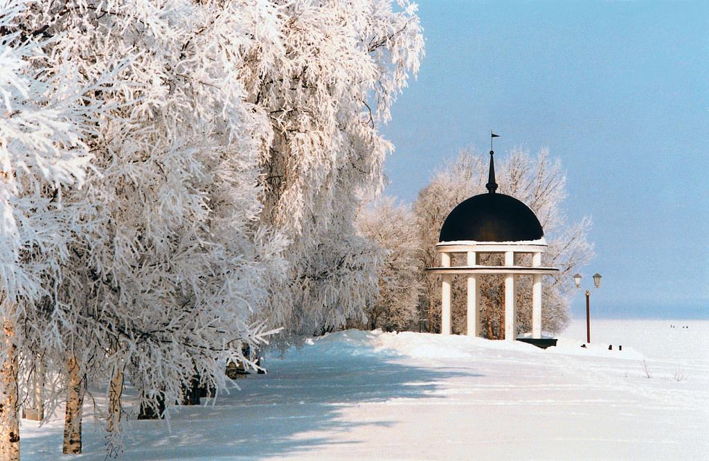 фото зима карелия